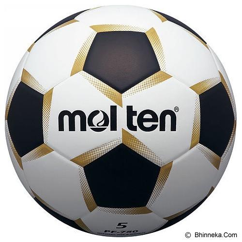 MOLTEN #5 Size 5 [PF750] - White/Black - Bola Sepak / Soccer Ball